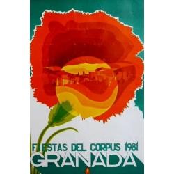GRANADA FIESTAS DEL CORPUS 1981