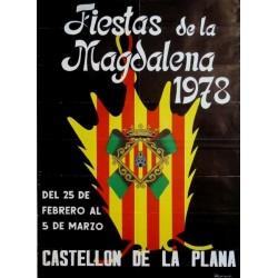 FIESTAS DE LA MAGDALENA 1978 CASTELLÓN