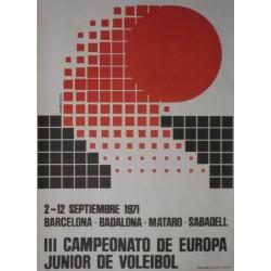 III CAMPEONATO DE EUROPA JUNIOR DE VOLEIBOL