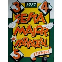 FESTA MAJOR DE SABADELL 1977