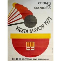 FIESTA MAYOR 1971 MANRESA
