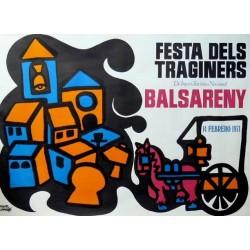 BALSARENY FESTA DELS TRAGINERS 1971