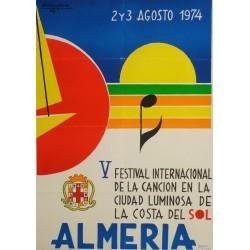 ALMERIA V FESTIVAL INTERNACIONAL DE LA CANCION