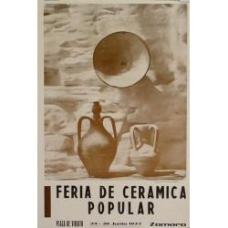 ZAMORA. I FERIA DE CERAMICA POPULAR