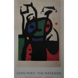 JOAN MIRÓ. THE MATADOR