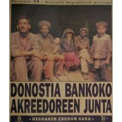 DONOSTIA BANKOKO AKREEDOREEN JUNTA
