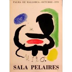 MIRÓ. SALA PELAIRES 1970