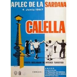 APLEC DE LA SARDANA, CALELLA 1967