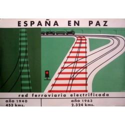 ESPAÑA EN PAZ RED FERROVIARIA