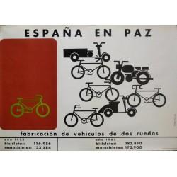 ESPAÑA EN PAZ VEHÍCULOS 2 RUEDAS