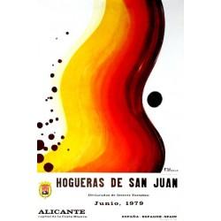 ALICANTE HOGUERAS DE SAN JUAN 1979