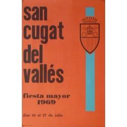 SANT CUGAT DEL VALLÉS, FIESTA MAYOR 1969