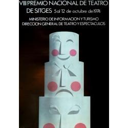 VIII PREMIO NACIONAL DE TEATRO DE SITGES