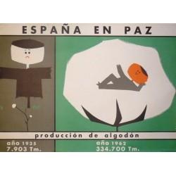 ESPAÑA EN PAZ PRODUCCIÓN DE ALGODÓN
