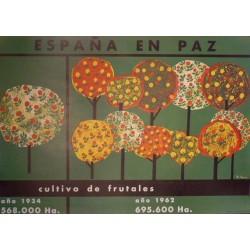 ESPAÑA EN PAZ CULTIVO DE FRUTALES
