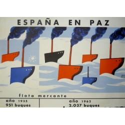 ESPAÑA EN PAZ FLOTA MERCANTE