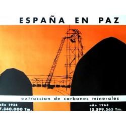 ESPAÑA EN PAZ EXTRACCIÓN CARBONES