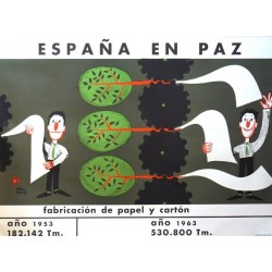 ESPAÑA EN PAZ PAPEL Y CARTÓN