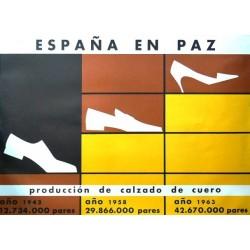 ESPAÑA EN PAZ CALZADO DE CUERO