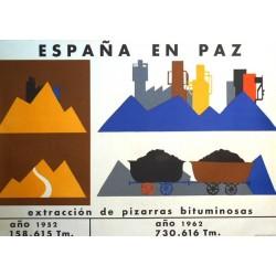 ESPAÑA EN PAZ PIZARRAS BITUMINOSAS