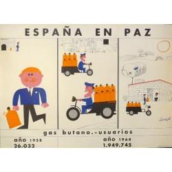 ESPAÑA EN PAZ GAS BUTANO USUARIOS