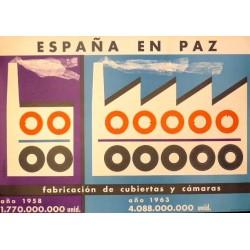 ESPAÑA EN PAZ FABRICACIÓN CUBIERTAS Y CÁMARAS