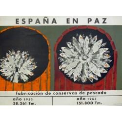 ESPAÑA EN PAZ FABRICACIÓN CONSERVAS PESCADO