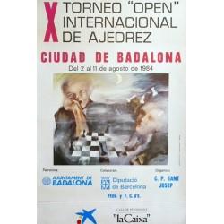 """X TORNEO """"OPEN"""" DE AJEDREZ"""