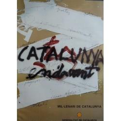 CATALUNYA ENDAVANT. TAPIES, ANTONI