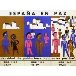 ESPAÑA EN PAZ POBLACIÓN