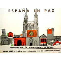 ESPAÑA EN PAZ RESTAURACIÓN MONUMENTOS
