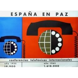ESPAÑA EN PAZ CONFERENCIAS