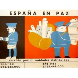 ESPAÑA EN PAZ SERVICIO POSTAL