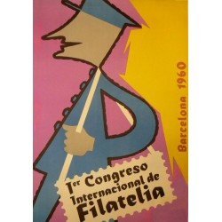 1ER CONGRESO INTERNACIONAL FILATELIA