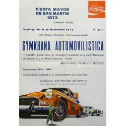 GYMKHANA AUTOMOVILISTICA 1973