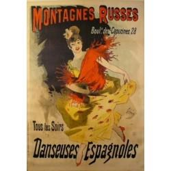 MONTAGNES RUSSES - DANSEUSES ESPAGNOLES