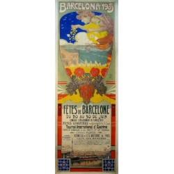 BARCELONA 1905, FÊTES DE BARCELONE