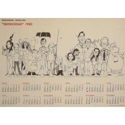 """""""QUISICOSAS"""" 1982. RADIOCADENA"""