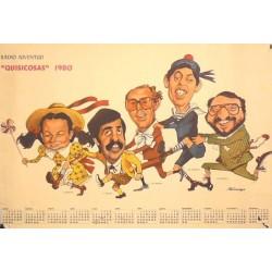 """""""QUISICOSAS"""" 1980 RADIO JUVENTUD"""