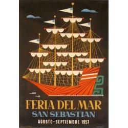FERIA DEL MAR SAN SEBASTIAN 1957
