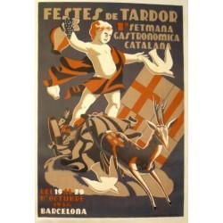 FESTES DE TARDOR 1934. SETMANA GASTRONÒMICA