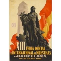 XIII FERIA DE MUESTRAS BARCELONA 1945