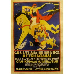 GRAN SEMANA HUMORISTICA.1926,SAN SEBASTIAN