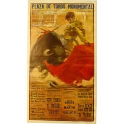 PLAZA DE TOROS MOMUMENTAL. 20 SEPTIEMBRE 1970