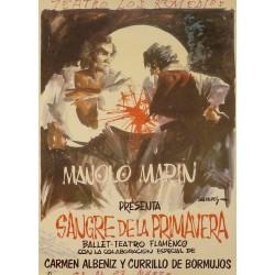 MANOLO MARIN SANGRE DE LA PRIMAVERA