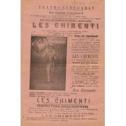 TEATRO ECHEGARAY LES CHIMENTI