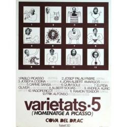 VARIETATS · 5 (HOMENATGE A PICASSO)