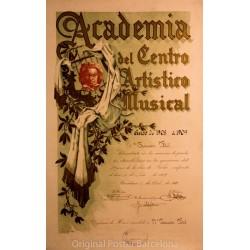 ACADEMIA DEL CENTRO ARTISTICO MUSICAL