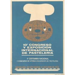 10º CONGRESO Y EXPOSICIÓN INTERNACIONAL DE PASTELERIA