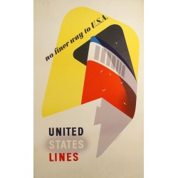 UNITED STATES LINES. NO FINER WAY TO U.S.A.